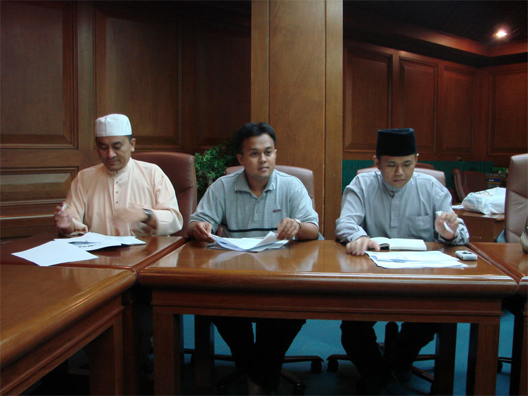 Meeting during PABD AGM II in 2007
