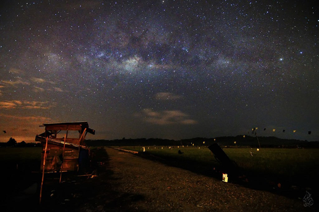 Galaksi Bimasakti oleh Ismani Ismail
