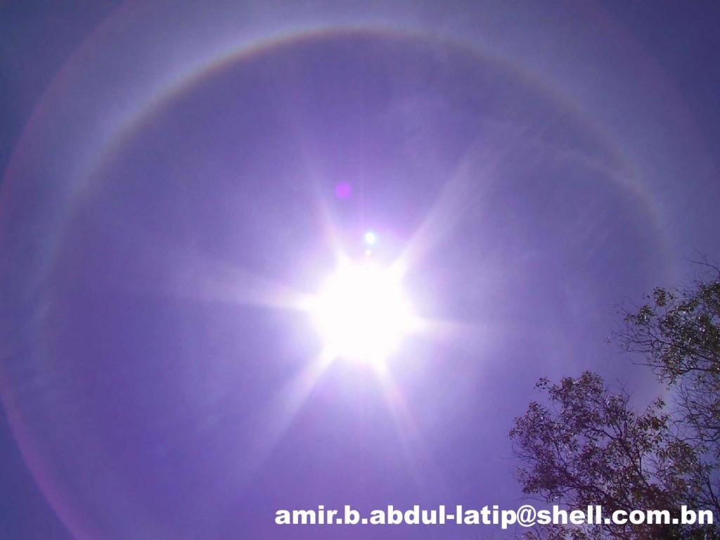 Solar Halo May 2001