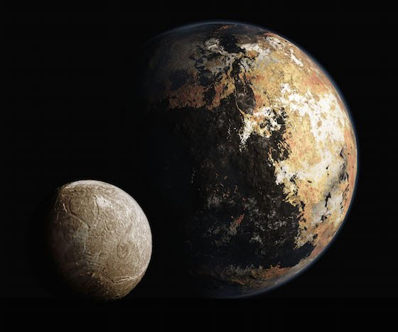 Computer Rendered image of Pluto (Credit: NASA)