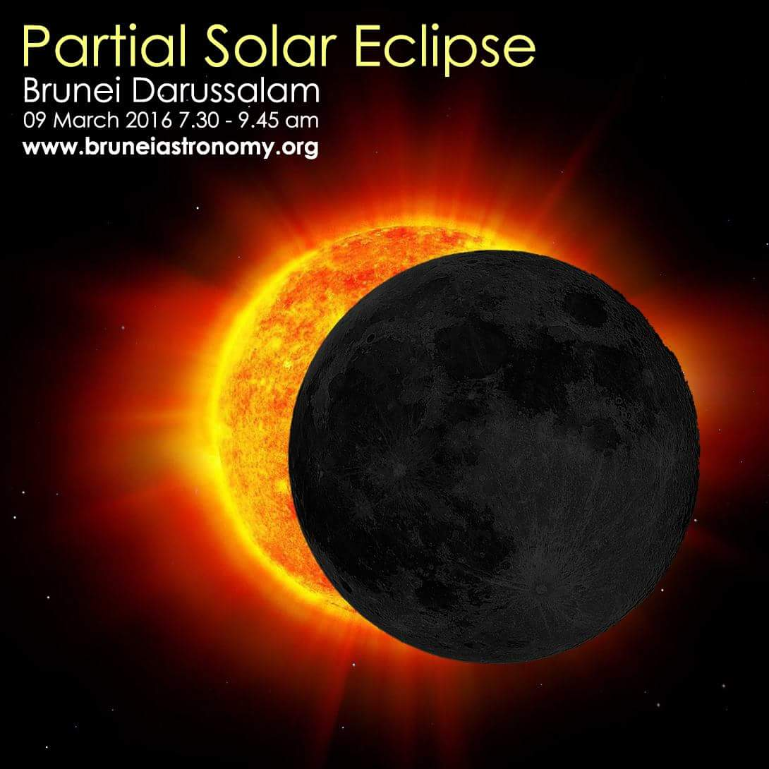 brunei to see partial solar eclipse on march 9 2016. Black Bedroom Furniture Sets. Home Design Ideas