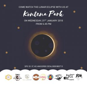 Kontena Park in Aggerek Desa from 6.45 pm