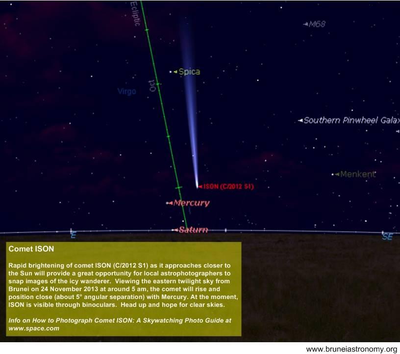 20131123 Comet ISON