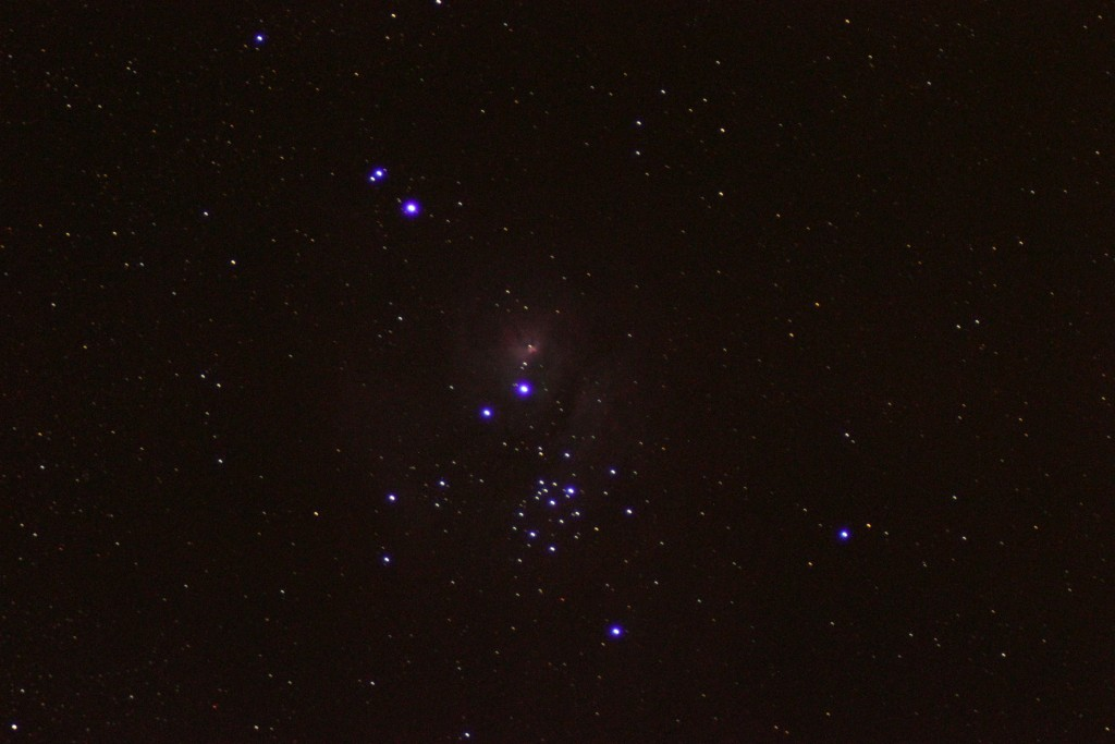 The Lagoon Nebula (M8) is a giant interstellar cloud in the constellation Sagittarius. Image by Hazarry from his backyard observatory on July 18, 2015.