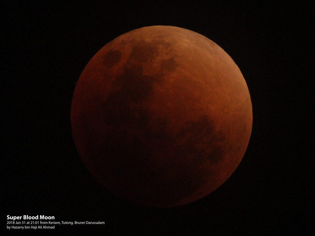 20180131 Total Lunar Eclipse at 21:01